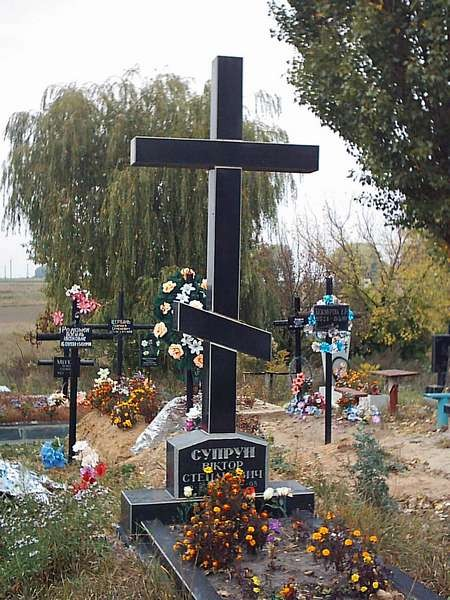 Крест на могилу KG-1