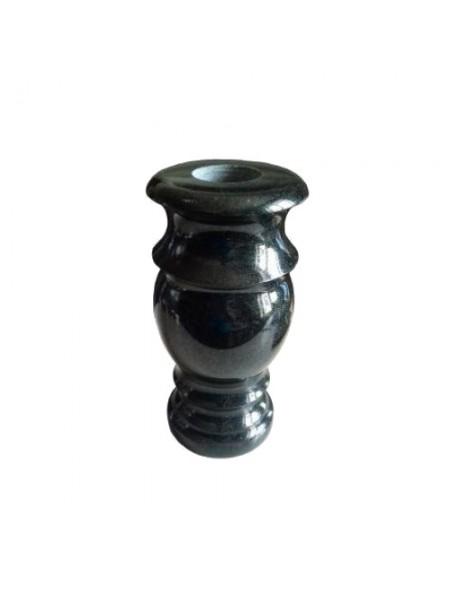 Гранитная ваза Габбро (черный)